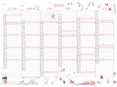 Annies vægkalender, FSC Mix 20063500