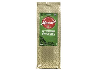Kaffe Merrild Økologisk helbønne