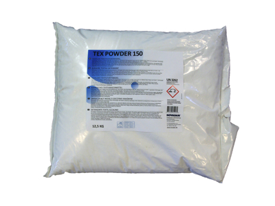 Vaskepulver Tex Powder 156 12,5 kg.