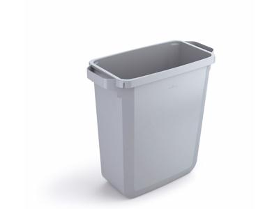 Affaldspand Durabin 60L. grå rektangulær