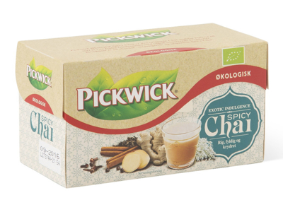 TE PICKWICK ØKO SPICY CHAI