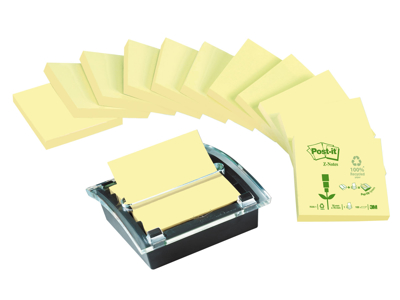 Z-notes Post-it gul recycled