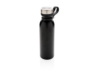 Kobber vakuum isoleret flaske med strop, sort