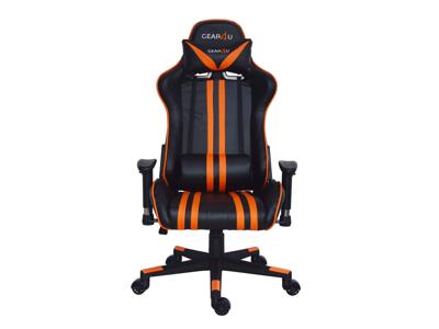 GEAR4U Gamerstol Elite Sort/Orange