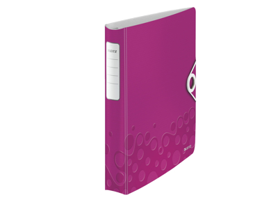Ringbind A4 Leitz WOW PP Pink
