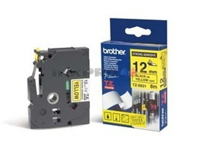 BROTHER TAPE TZeS631 SORT/GUL