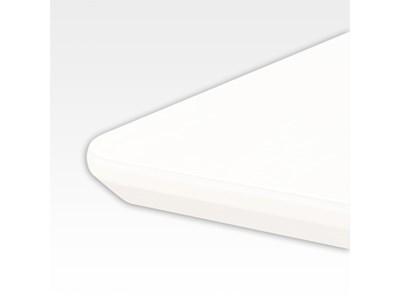 Bordplade 120 x 200 cm Hvid