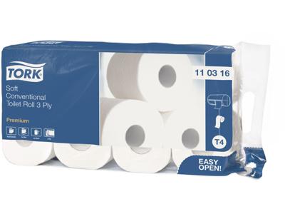 Toiletpapir Tork Premium 3lg. 72rl. 110316