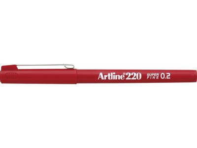 ARTLINE 220 0,2MM RØD