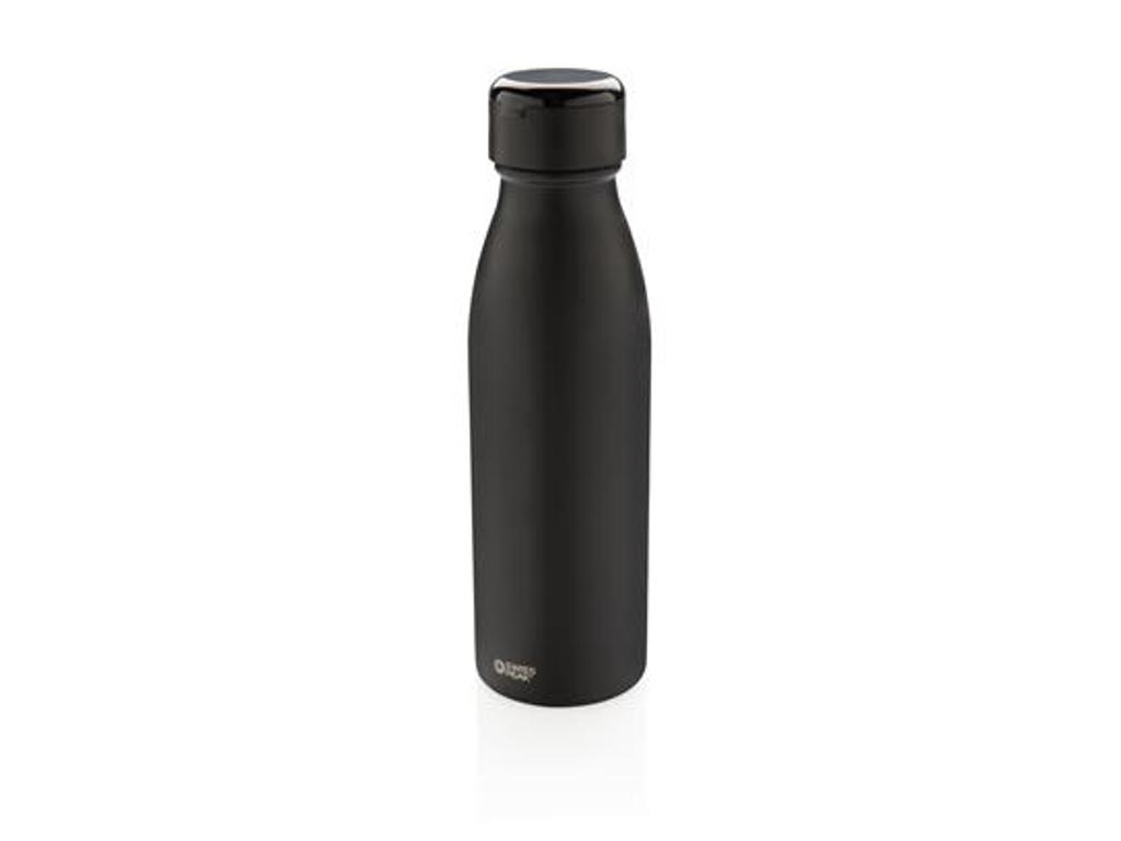 Swiss Peak termoflaske med ægte trådløse mini øretelefoner,