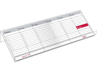 Bordkalender stativ