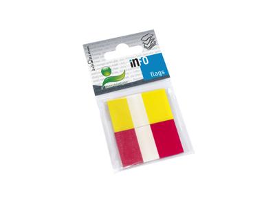 Index Faner 25x43 mm 2 farver