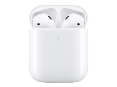 Apple Airpods wireless charging case trådløs Hvid 2 gen.
