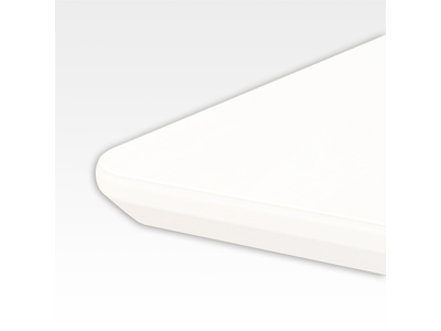Bordplade 110 x 180 cm Hvid