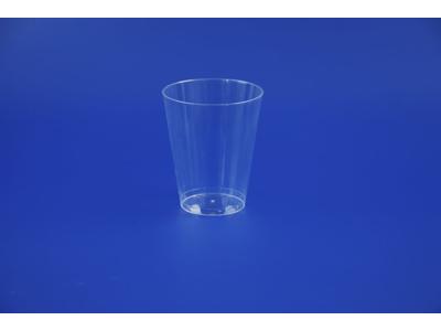 Plastglas hård PS 33 cl 25 stk.