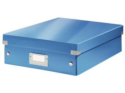 Arkivæske  Leitz  WOW  Blå medium