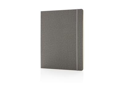 Deluxe B5 notesbog softcover XL, grå