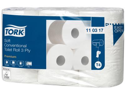 Toiletpapir Tork Premium 3lg 42rl 110317