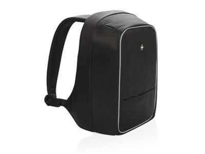 """Swiss Peak tyverisikker 15,6"""" laptop rygsæk, sort"""