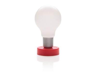 Lampe, rød