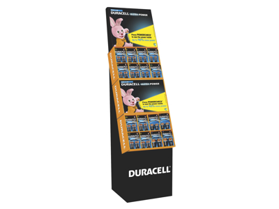 Duracell Ultra Power display