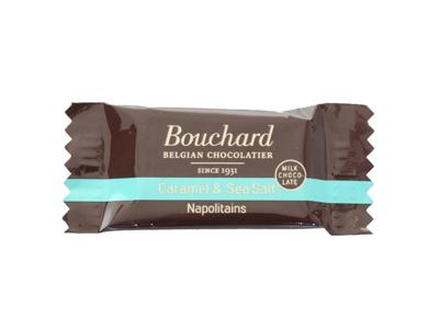 Chokolade Bouchard karamel & havsalt 5 gram 1 kg.