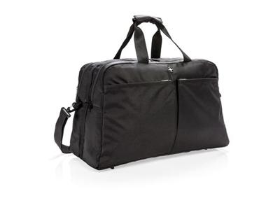 Swiss Peak RFID taske med kuffertåbning, sort