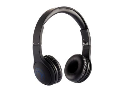 Sammenfoldelig trådløs hovedtelefon, sort