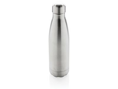 Vakuum isoleret rustfrit stål flaske, sølv
