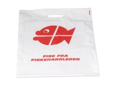 Bærepose fisk 300/200x515mm 1000 stk