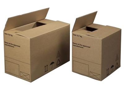Bølgepapkasse 570x370x430mm Farligt gods
