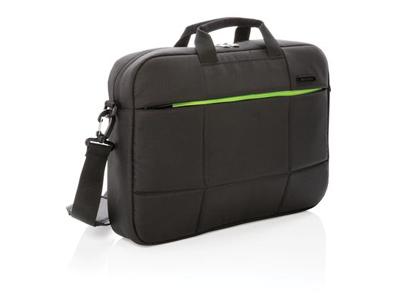 "Soho RPET 15"" laptop taske, PVC fri, sort"
