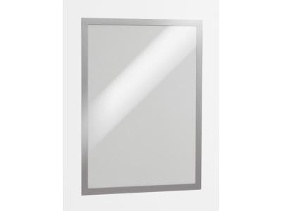 Skilt DURAFRAME A3 Sølv 2 stk