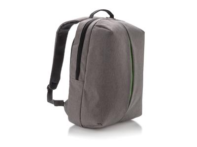 Smart rygsæk til kontor og sport, grå