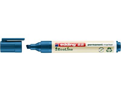 Marker Edding 22 Ecoline blå