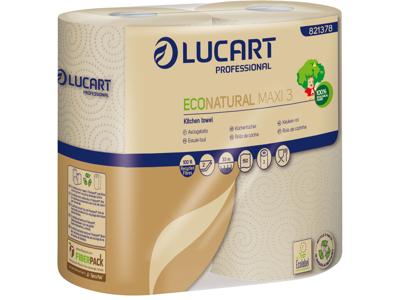 Køkkenrulle Lucart 2 lags Genbrug 2 rl