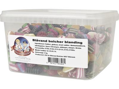Bolcher Blåvand 2 kg i plastbøtte