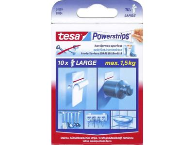 Powerstrips Tesa 58000 10 stk.