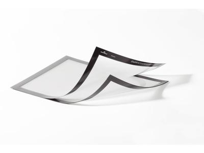 Skilt DURAFRAME A4+ Sølv 2 stk