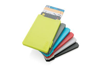 Multi kortholder med RFID anti skimming, blå