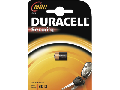 BATTERI Duracell MN11 / 6V