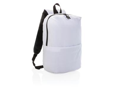 PVC fri rygsæk i afslappet stil, hvid