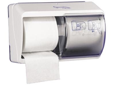 Dispenser t/toiletpapir 2 rul
