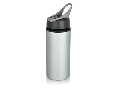 Aluminiums sports flaske, grå