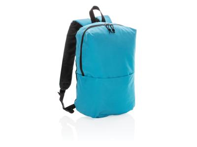 PVC fri rygsæk i afslappet stil, lyseblå