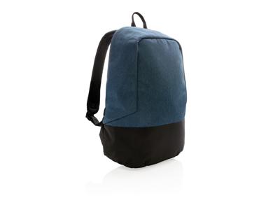 Standard tyverisikker RFID rygsæk, PVC fri, blå