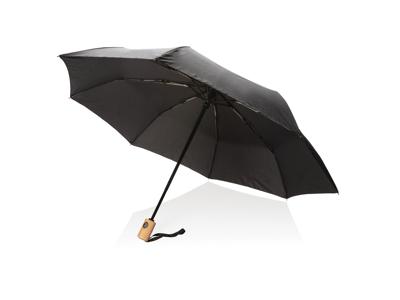 """21"""" automatisk åben/luk RPET paraply, sort"""