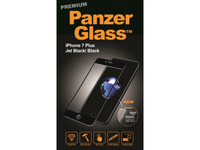 PanzerGlass Premium iPhone 7 Plus Sort