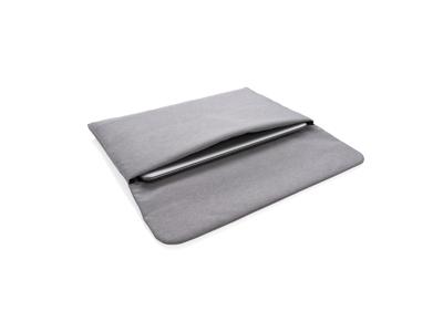 """15.6"""" PVC fri laptop etui med mangetisk lukning., grå"""