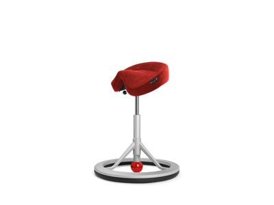 Kontorstol Backapp 2,0 rød alcantara